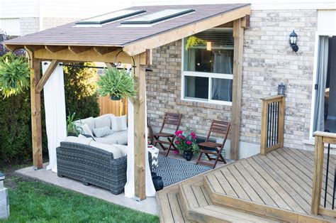 Backyard Covered Patios by Daily Randomness Covered Patio Reveal