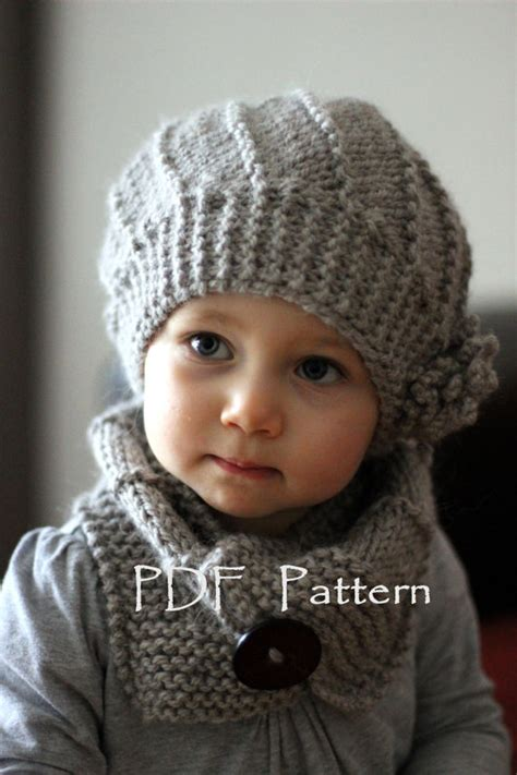 cool knitting ideas pdf knitting pattern hat and cowl set cool wool by katytricot