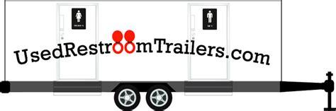 bathroom trailer for sale used restroom trailers com