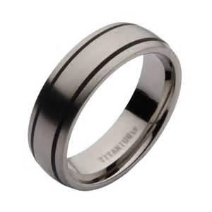 black titanium wedding band 7mm titanium black enamelled wedding ring titanium rings at elma uk jewellery