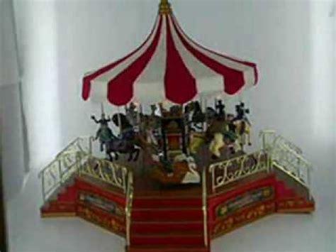 mr christmas nottingham fair carousel doovi