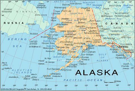 map usa canada alaska alaska tours lodging ak map