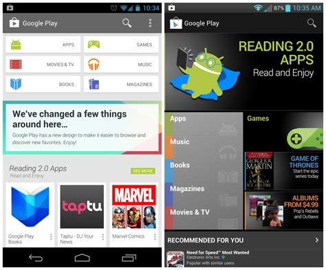 Can T Load Play Store Play Store 4 0 What S New