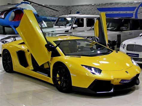 yellow lamborghini aventador bold yellow lamborghini aventador for sale gtspirit