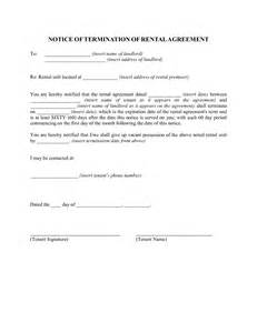 Landlord Contract Termination Letter Sle 100 Lease Termination Letter Sle To Landlord 164337 329x425 Personal Sle Contract