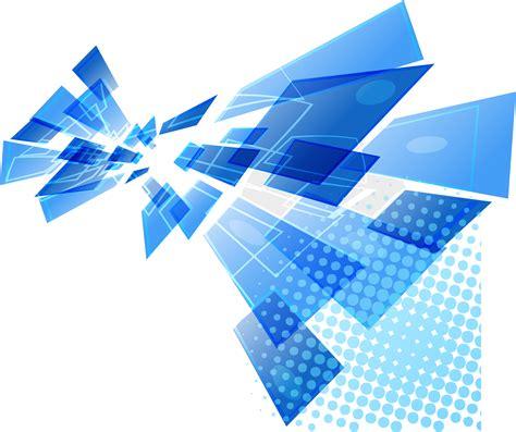 blue modern vector png file hd clipart transparent