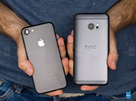 7 iphones ranked apple iphone 7 vs htc 10