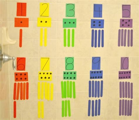 math crafts for 32 best images about dollar store tot on