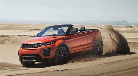 range rover evoque 2017 2017 range rover evoque convertible release date specs