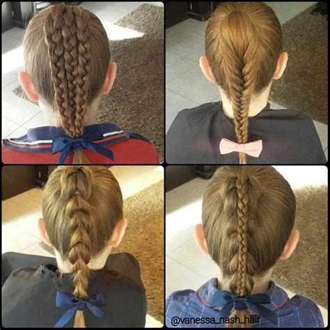 and easy hairstyles for hair for school and ponytail hairstyles for school