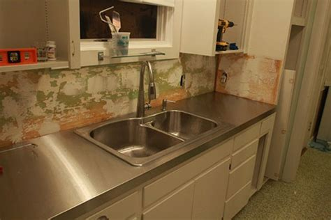 Stainless Steel Countertop With Sink by 5 Ways To Do Stainless Steel Counter Tops In Your Kitchen