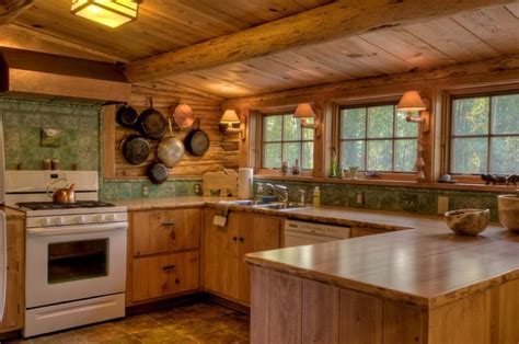 cabin kitchens ideas rocking h cabin kitchen kitchen ideas