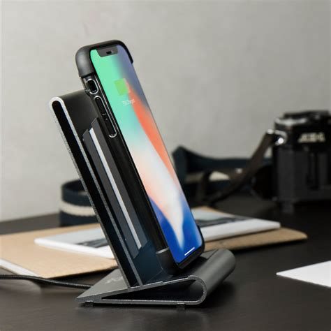 iphone 8 wireless charging homi qi wireless charging set wireless 2way slim jacket corestand homicreations iphone 8