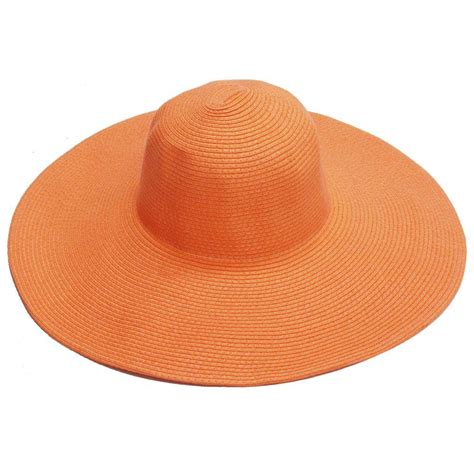 easy gardener wide brim orange hat lh0011 the