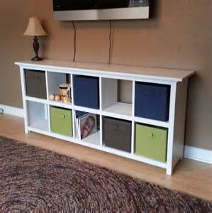white 10 cube shelf diy projects