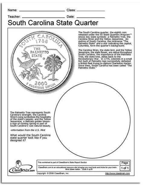 Carolina Worksheets by 14 Best Images About Learning About South Carolina On