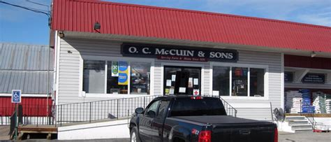 contact us o c mccuin sons