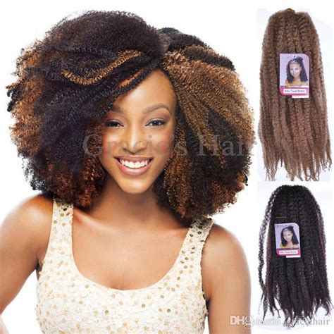 afro croquet hair styles photos 2017 cheap afro kinky marley braiding hair 18 crochet