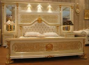 white and gold bedroom set new white gold colour luxury gold plated european style