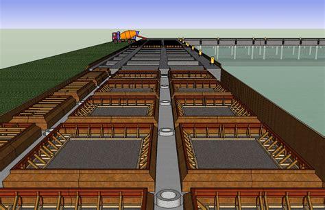 layout pelabuhan batubara bagaimana pemasangan bekisting dermaga port and harbour