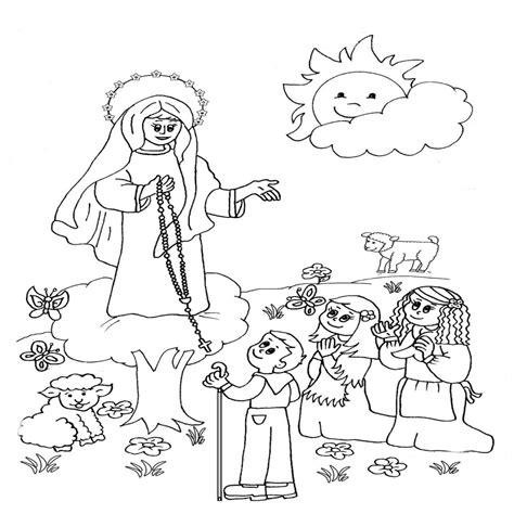 imagen virgen maria para pintar dibujo de maria auxiliadora para colorear