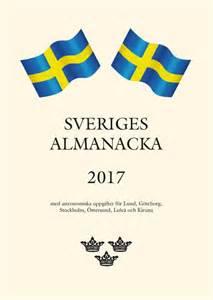 Kalendar 2018 Sverige Sveriges Almanacka 2017