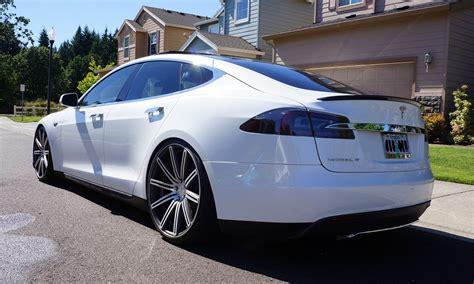 Anschrift Audi by Tesla Model S Fully Adjustable Lowering Kit Links