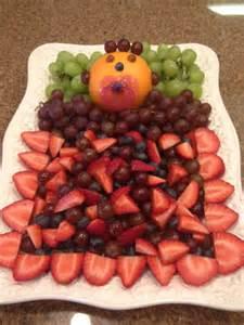 baby shower fruit tray fruit trays