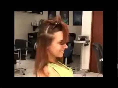 barber girl nape shave youtube video beautiful women bob haircut with shaved nape youtube