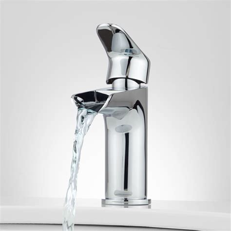 waterfall bathroom sink faucet 3 hole waterfall bathroom faucet befon for