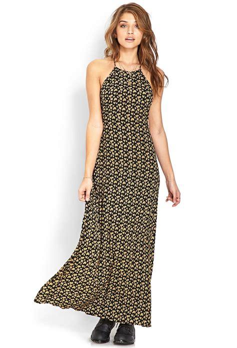 dress maxi sunflow sweet sunflower maxi skirt forever21 summer delight