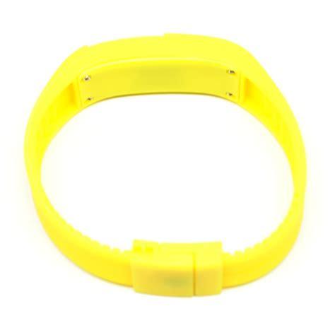 Keren Jam Tangan Adidas Led jam tangan led gelang sport no logo yellow jakartanotebook