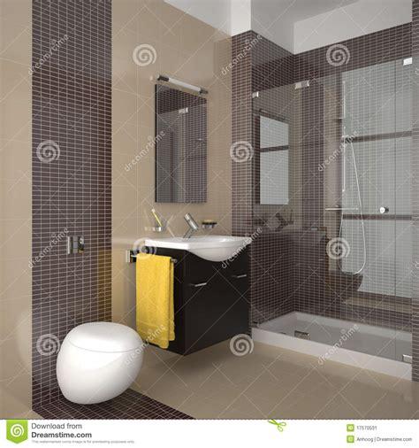 braune fliesen bad moderne badkamers met beige en bruine tegels stock