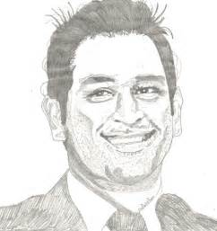 M S Dhoni Sketches by 11 Best Sports News Images On Sports News