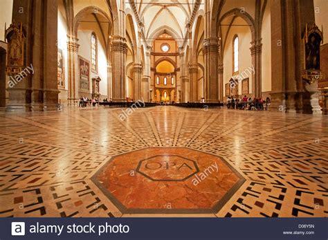 santa in fiore interior of florence cathedral duomo santa fiore