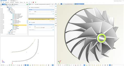 layout blade php centrifugal impeller blade design general modeling