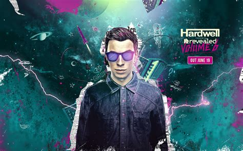 Hoodei Dj Hardwell Revealed Records Hardwell Presents Revealed Volume 6 Hd Wallpaper And