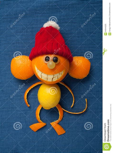 Happy Monkey Blue monkey happy new year tet royalty free stock image cartoondealer 64517092