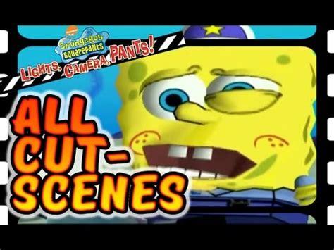 spongebob squarepants lights spongebob squarepants lights all cutscenes