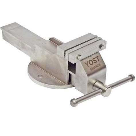 steel bench vise yost 4 inch stainless steel bench vise