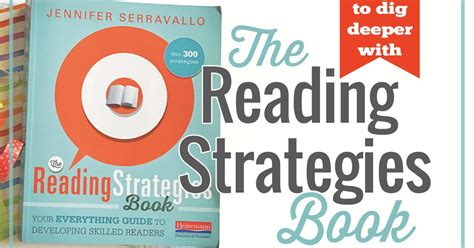 picture books to teach reading strategies four ways to dig deeper with the reading strategies book