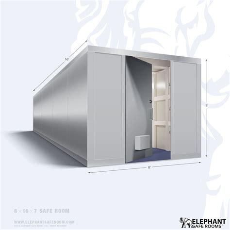safe room dimensions 8 x 16 safe room elephant safe room