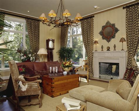 interior design window treatments custom family room draperies and interior design