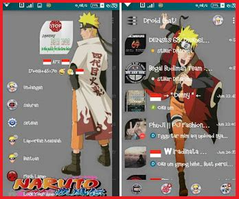 themes bbm naruto free software full versi droid chat themes naruto v 2 9 0