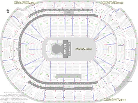 how many seats inerica park bb t center circus by cirque du soleil exact seating