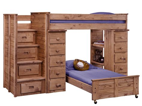 L Shaped Bunk Beds With Storage 21 Top Wooden L Shaped Bunk Beds With Space Saving Features