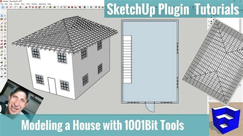 Tutorial Sketchup Vol 1 roof sketchup extension image2 jpg sc 1 st dummies