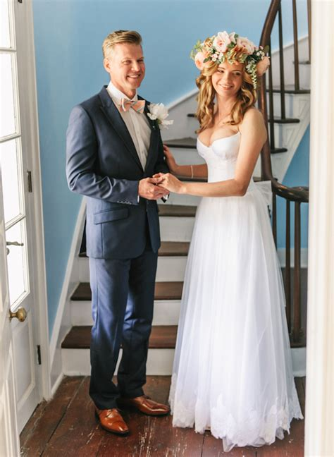 bohemian wedding with a touch of southern charm