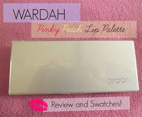 Wardah Lip Di Dandan review wardah lip palette in swatches in