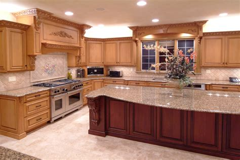 custom kitchen cabinets design island designs trendy kitchen islands options for your